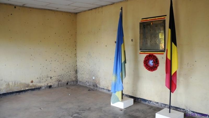 Camp Kigali Belgian memorial