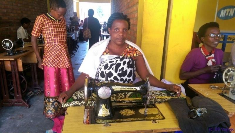 seamstress, Kibuye market