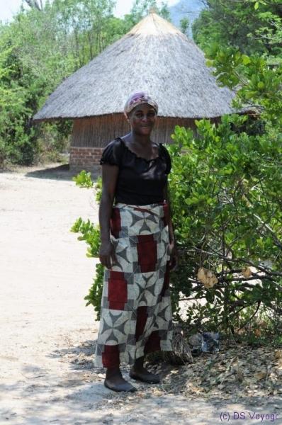 Judith at Safari Camp, Liwonde National Park, Malawi